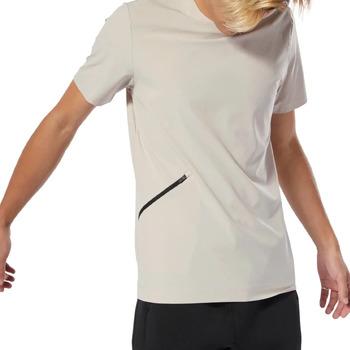 Abbigliamento Uomo T-shirt maniche corte Reebok Sport DU3711 Beige