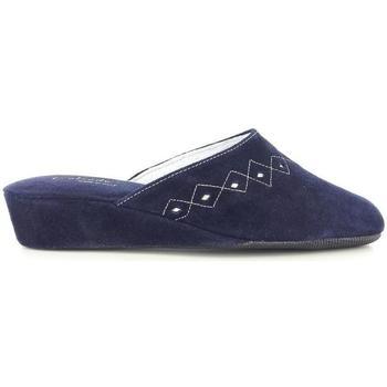 Scarpe Uomo Pantofole Falcade 18231 BLU