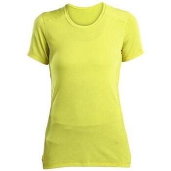 Abbigliamento Donna T-shirt maniche corte Saucony SAW800023 Giallo
