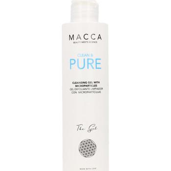 Bellezza Maschere & scrub Macca Clean & Pure Cleansing Gel With Microparticles  200 ml