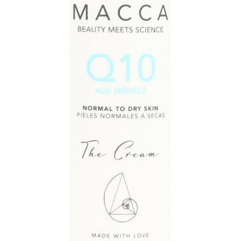 Bellezza Antietà & Antirughe Macca Q10 Age Miracle Cream Normal To Dry Skin  50 ml