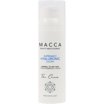Bellezza Idratanti e nutrienti Macca Supremacy Hyaluronic Z 0,25% Cream Normal To Dry Skin  50