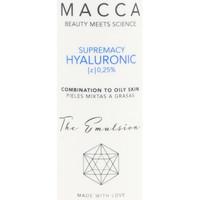 Bellezza Idratanti e nutrienti Macca Supremacy Hyaluronic Z 0,25% Emulsion Combination To Oily Sk 50