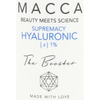Bellezza Idratanti e nutrienti Macca Supremacy Hyaluronic Z 1% Booster  30 ml