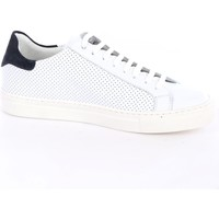 Scarpe Uomo Sneakers basse Mark Midor DOST+FORATURA-CAMOSCIO Basse Uomo Bianco & blu Bianco & blu