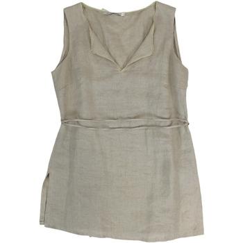 Abbigliamento Donna Abiti corti Le Group Woman ATRMPN-27224 Beige