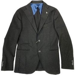 Abbigliamento Uomo Giacche / Blazer Barbati ATRMPN-27238 Nero