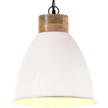 Casa Lampade da tavolo VidaXL Lampada a sospensione 35 cm Bianco