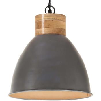 Casa Lampade da tavolo VidaXL Lampada a sospensione 46 cm Grigio