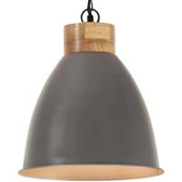 Casa Lampade da tavolo VidaXL Lampada a sospensione 35 cm Grigio