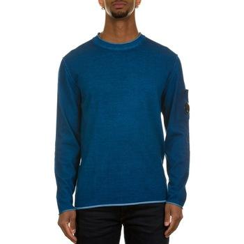 Abbigliamento Uomo Maglioni C.p. Company 10CMKN279A-004128S  LYONSV BLU 870 Blu