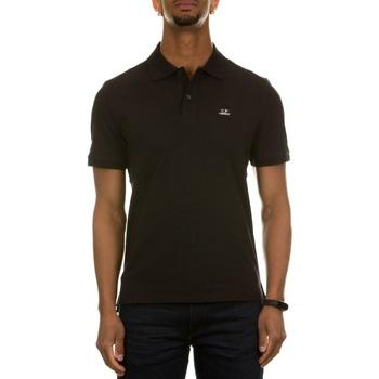 Abbigliamento Uomo Polo maniche corte C.p. Company 10CMPL068A-005263W BLACK 999 Nero