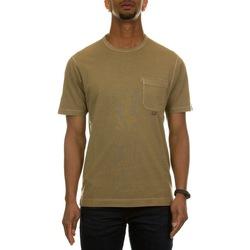 Abbigliamento Uomo T-shirt maniche corte C.p. Company 10CMTS244A-006057O CORNSTALK 329 Bianco
