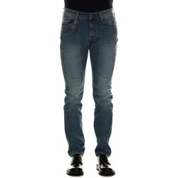 Abbigliamento Uomo Jeans slim Jeckerson JKUPA077TA396D736P - Denim Blu