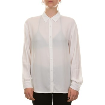Abbigliamento Donna Camicie Manila Grace C192VC MA043 - OFF WHITE Bianco