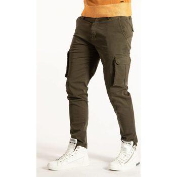 Abbigliamento Uomo Pantalone Cargo Takeshy Kurosawa  Verde
