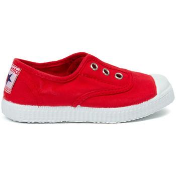 Scarpe Unisex bambino Tennis Cienta Chaussures en toiles bébé  Tintado rouge