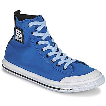Scarpe Uomo Sneakers alte Diesel FAMILA Blu