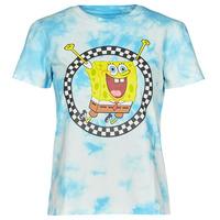 Abbigliamento Donna T-shirt maniche corte Vans WM VANS X SPONGEBOB Blu