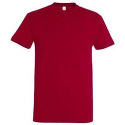 Abbigliamento Donna T-shirt maniche corte Sols IMPERIAL camiseta color Rojo Tango Rojo