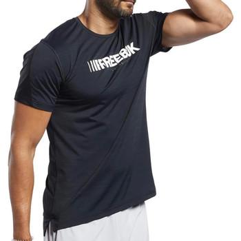 Abbigliamento Uomo T-shirt maniche corte Reebok Sport FJ4621 Nero
