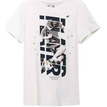 Abbigliamento Uomo T-shirt maniche corte 4F TSM011 Bianco
