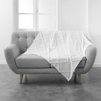 Casa Plaid, coperte Douceur d intérieur CALYSSA Bianco