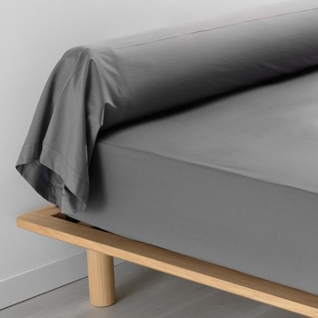 Casa Federa cuscino, testata Douceur d intérieur PERCALINE Antracite