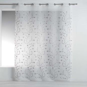 Casa Tende Douceur d intérieur PETITE FLEUR Bianco / Grigio