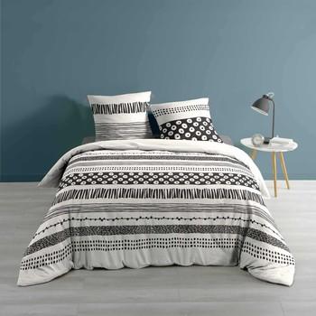 Casa Completo letto Douceur d intérieur BLACKY Bianco