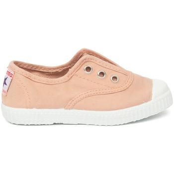 Scarpe Unisex bambino Tennis Cienta Chaussures en toiles bébé  Tintado rose clair