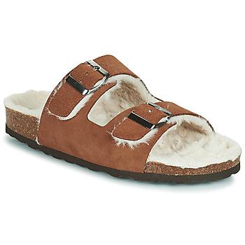 Scarpe Donna Pantofole Casual Attitude NEW Marrone
