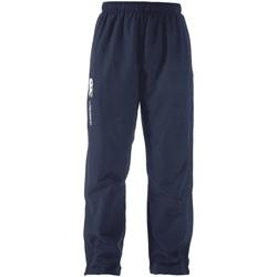 Abbigliamento Pantaloni da tuta Canterbury  Blu navy/Bianco