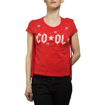 Abbigliamento Donna T-shirt & Polo Liujo F19349J9944 rosso