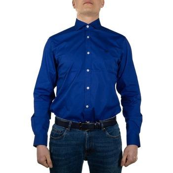 Abbigliamento Uomo Camicie maniche lunghe Harmont E Blaine CND012007992I blu elettrico