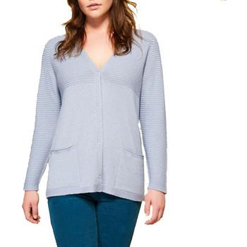 Abbigliamento Donna Gilet / Cardigan Persona 1344108 azzurro