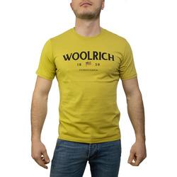 Abbigliamento Uomo T-shirt & Polo Woolrich W0TEE1155 giallo acido