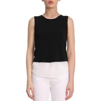 Abbigliamento Donna Top / T-shirt senza maniche Armani 3Z2M712JPQZ nero