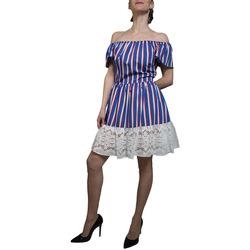 Abbigliamento Donna Vestiti Liujo F19384T2311 azzurro