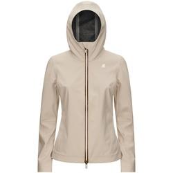 Abbigliamento Donna Giubbotti K-Way K007LU0 beige grey