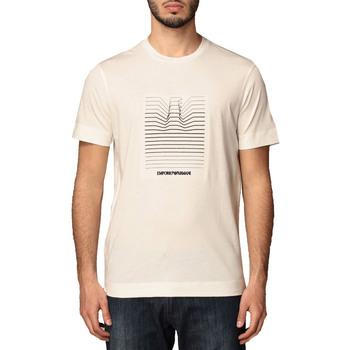 Abbigliamento Uomo T-shirt maniche corte Armani 3K1TL81JULZ bianco