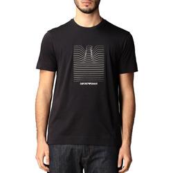 Abbigliamento Uomo T-shirt maniche corte Armani 3K1TL81JULZ blu