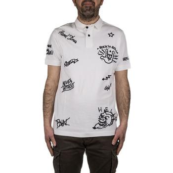 Abbigliamento Uomo Polo maniche corte Replay M353722450 bianco