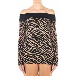 Abbigliamento Donna Maglioni Liujo MF0104MA49I nero