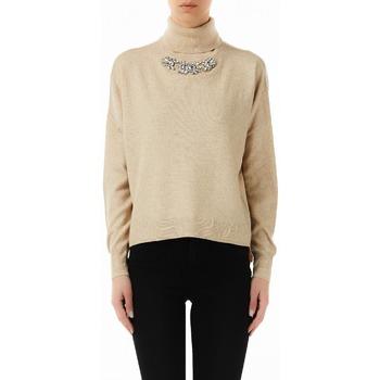 Abbigliamento Donna Maglioni Liujo F69299MA14G beige
