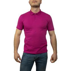 Abbigliamento Uomo Polo maniche corte Sun68 A19106 fuxia