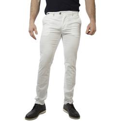 Abbigliamento Uomo Chino Teleria Zed ROBIN GB bianco