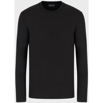 Abbigliamento Uomo T-shirts a maniche lunghe Armani 6G1TL61JHWZ nero