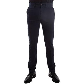 Abbigliamento Uomo Chino Harmont E Blaine WNC300T52798 blu