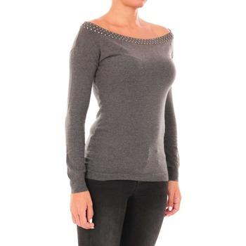 Abbigliamento Donna Maglioni Liujo M68035MA21H grigio scuro